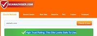 High Trust Rating.This Site looks Safe To Use